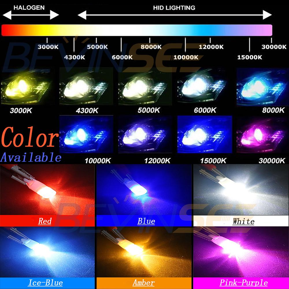 Malibu Landscape Lights Flashing: 10 Pack 12V DC LED Wedge Bulb For Malibu Landscape Light