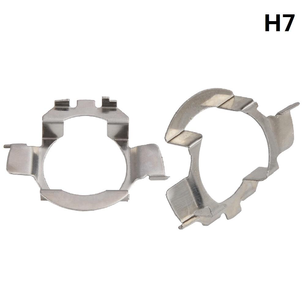 2X H7 LED Headlight Bulb Adapter Holder Vauxhall Astra H J Vectra C Insignia B4