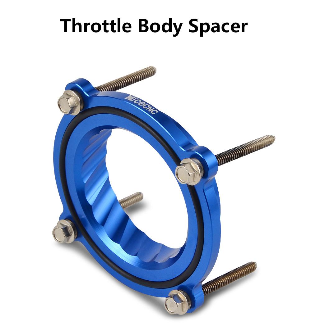 THROTTLE BODY SPACER for  2011 to 2014 DODGE AVENGER  V6 3.6L  Billet Aluminum