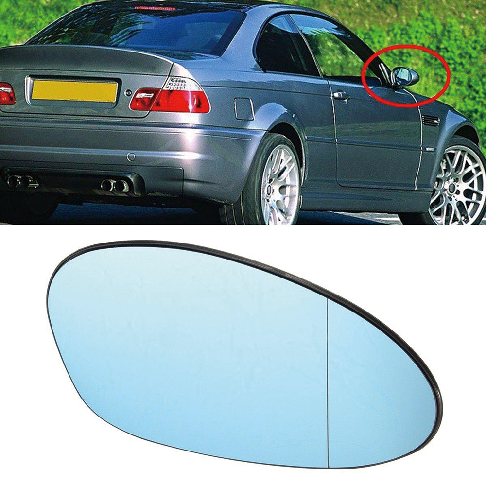 Backing Plate for BMW 3-series E90 E91 2005-2008 LR+RH Heated Door Mirror Glass