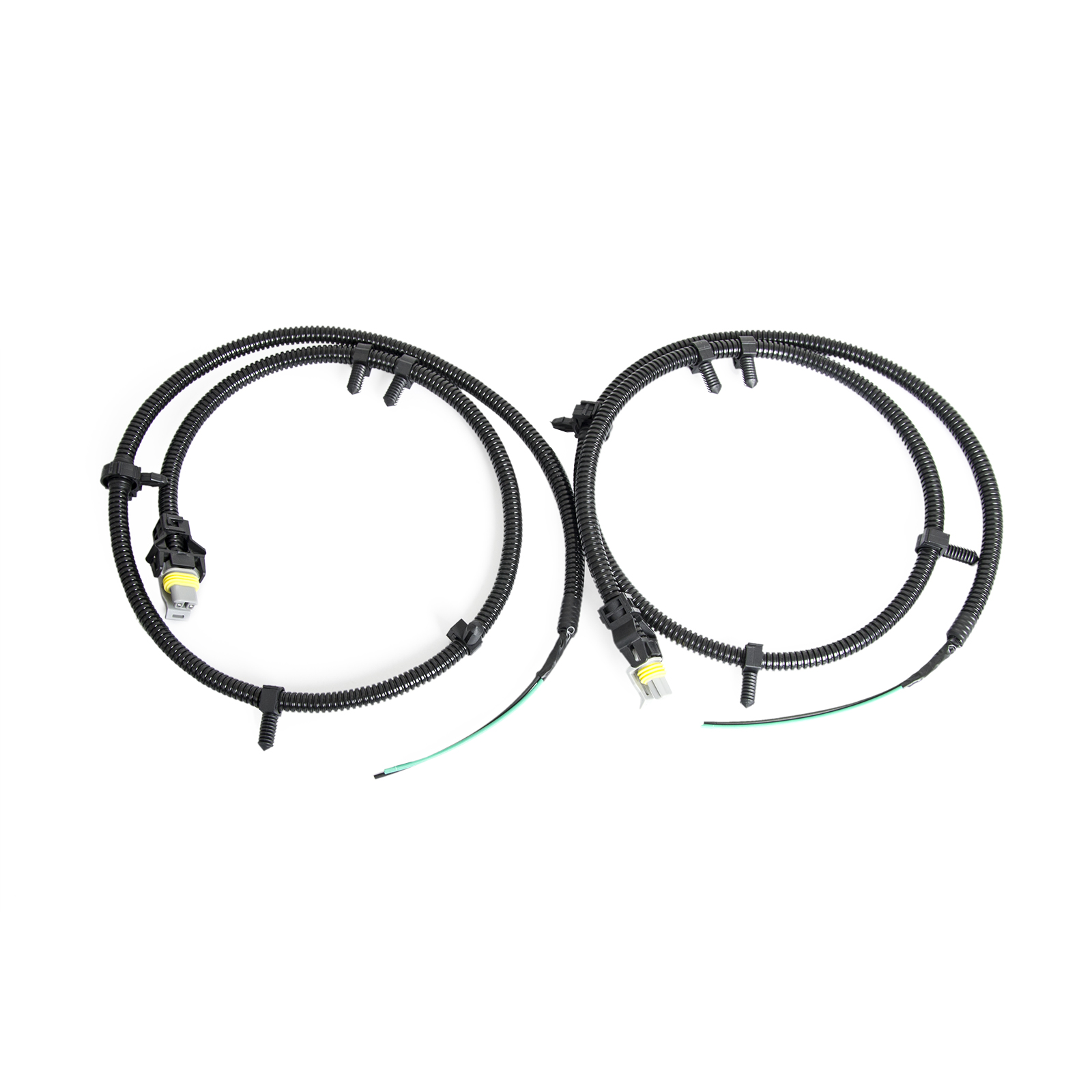 2pcs abs wheel speed sensor wire harness plug pigtail for. Black Bedroom Furniture Sets. Home Design Ideas