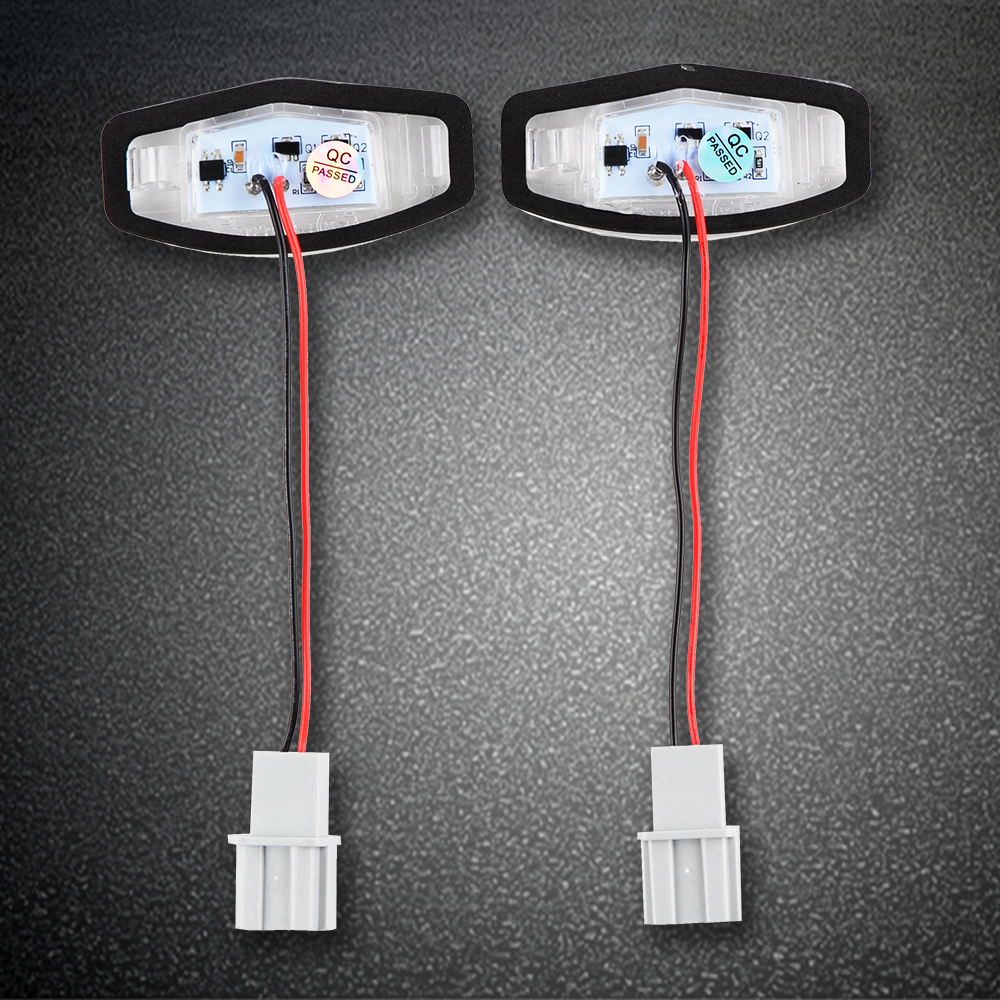 2x 18-SMD LED License Plate Light For Acura ILX 13-15,MDX