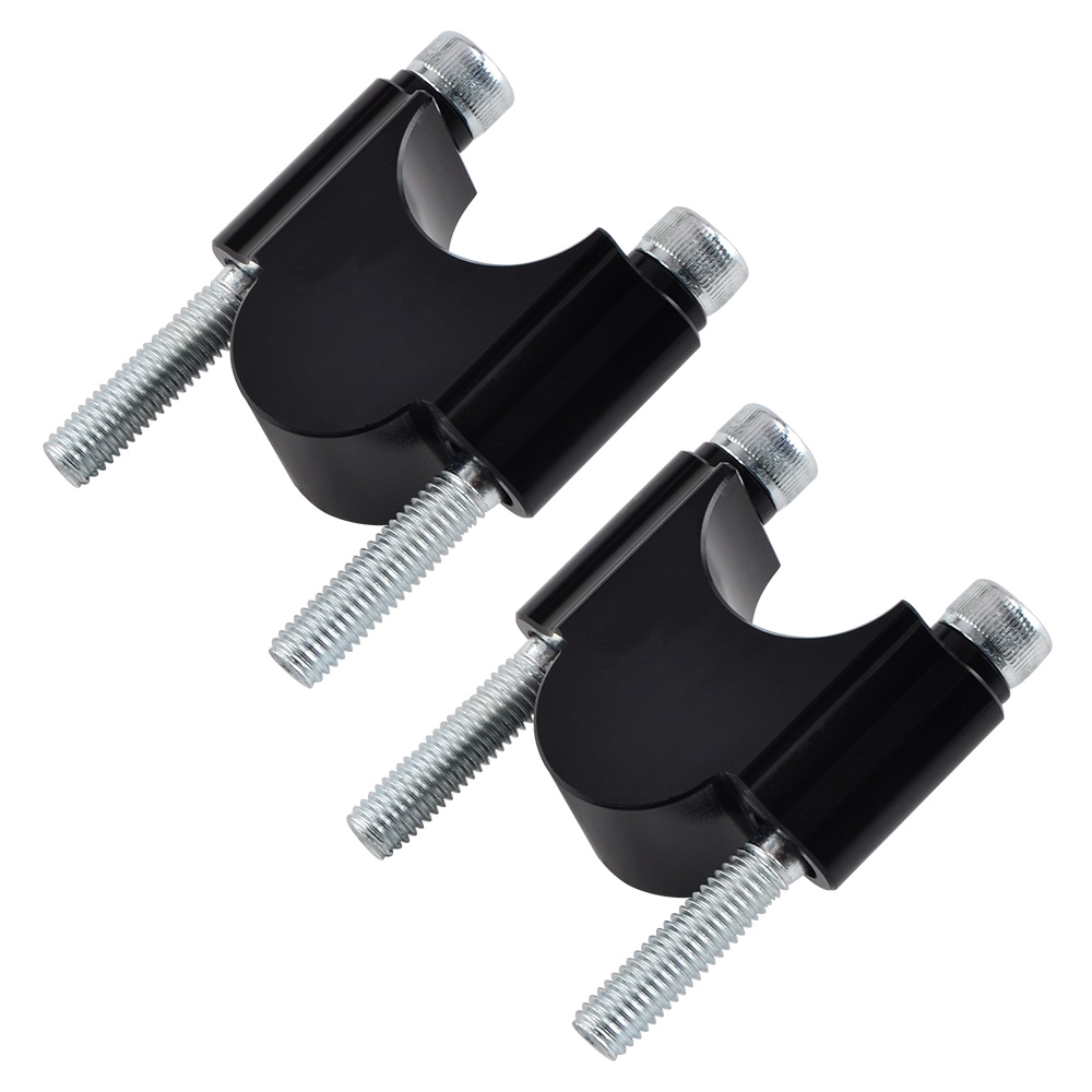 2 x Handlebar Clamp Riser Bars For KTM 125 150 200 250 300-525 EXC SX SXF XC XCF