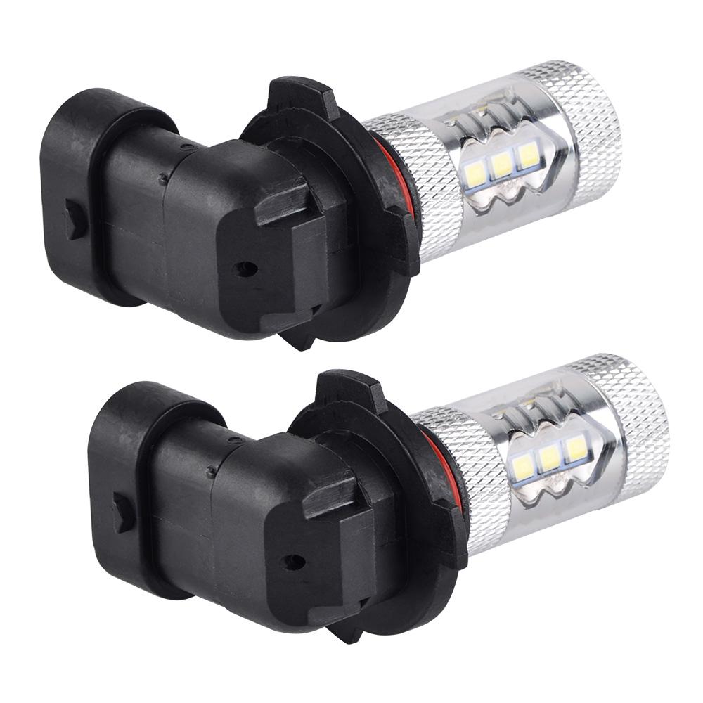 2x 80w Led Fog Light Bulbs For Can Am Outlander Commander