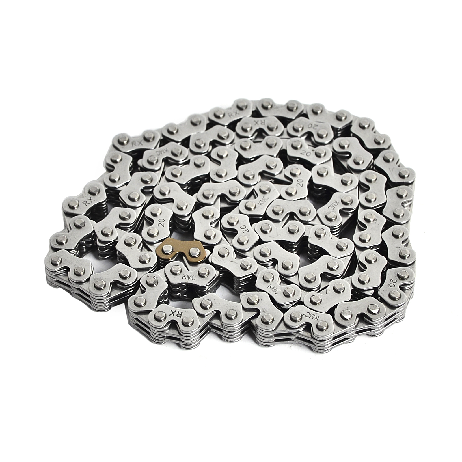 KMC Cam Timing Roller Chain For Yamaha FZR250 1986-1993 Replace 14401-KCY-671